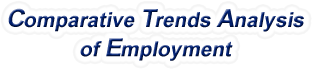Indiana - Comparative Trends Analysis of Total Employment, 1969-2016