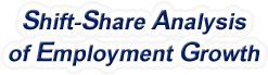 Shift-Share Analysis of Indiana Employment Growth and Shift Share Analysis Tools for Indiana